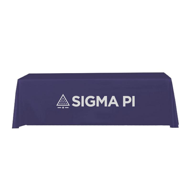 8 Foot Table Cloth Sigma Pi